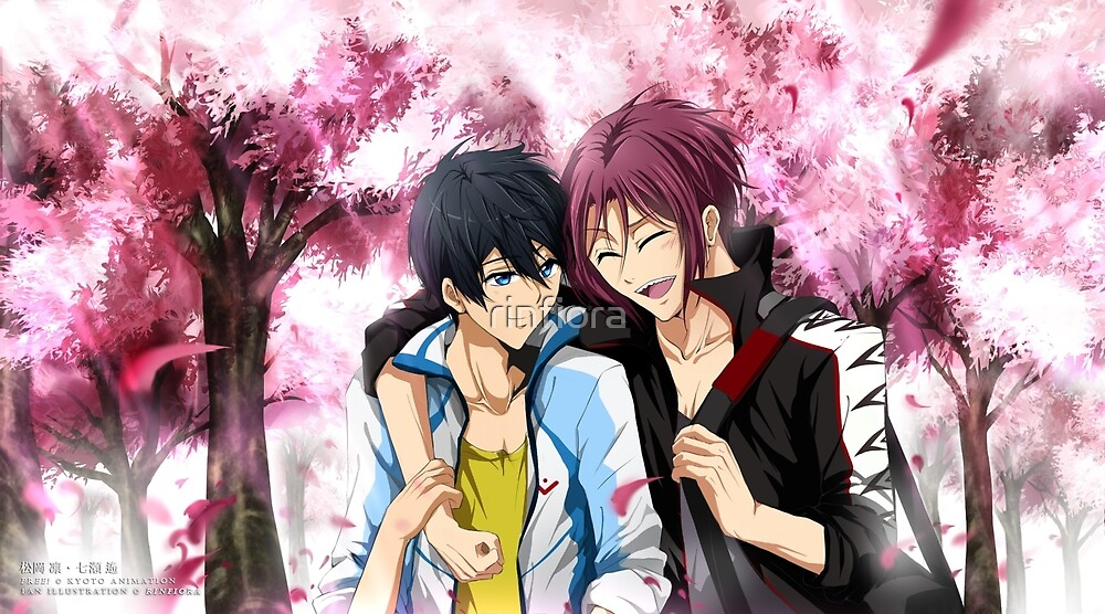 FREE! Eternal Summer: Rin and Haru - Precious Smiles by rinfiora