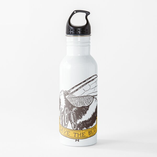 Save The Bees! (Bumble Bee - Flying) Water Bottle