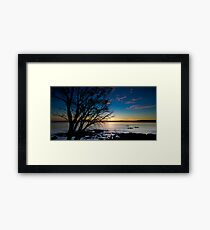 Coles Bay Sunset Framed Print