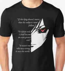 The Testamennt of Lelouch Vi Britannia Part 1 Unisex T-Shirt