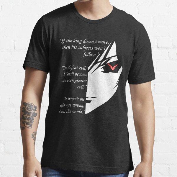 The Testamennt of Lelouch Vi Britannia Part 1 Essential T-Shirt