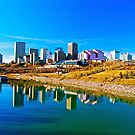 River Valley View - Edmonton, AB Canada by Jessica Chirino Karran