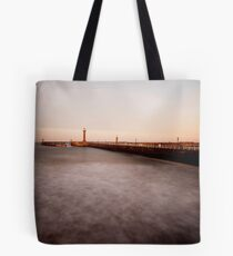 Whitby - slow shutter seascape Tote Bag