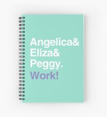 Work! Spiral Notebook