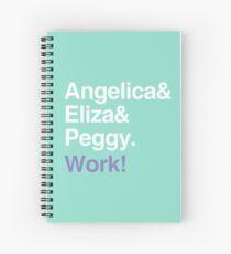 Cuaderno de espiral ¡Trabajo!