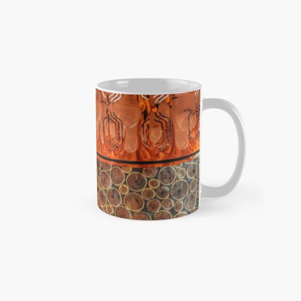 Warm gold and wood patterns Classic Mug