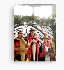 Haida Indians Metal Print