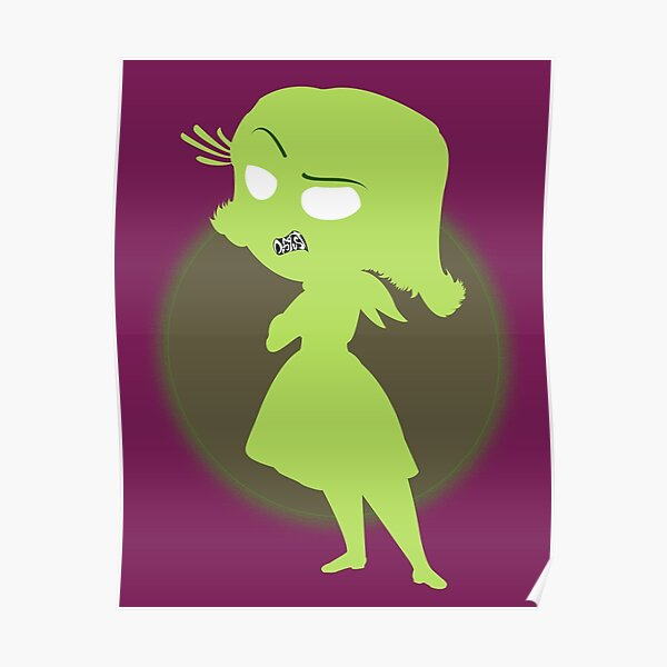 Disgust   Inside Out Poster