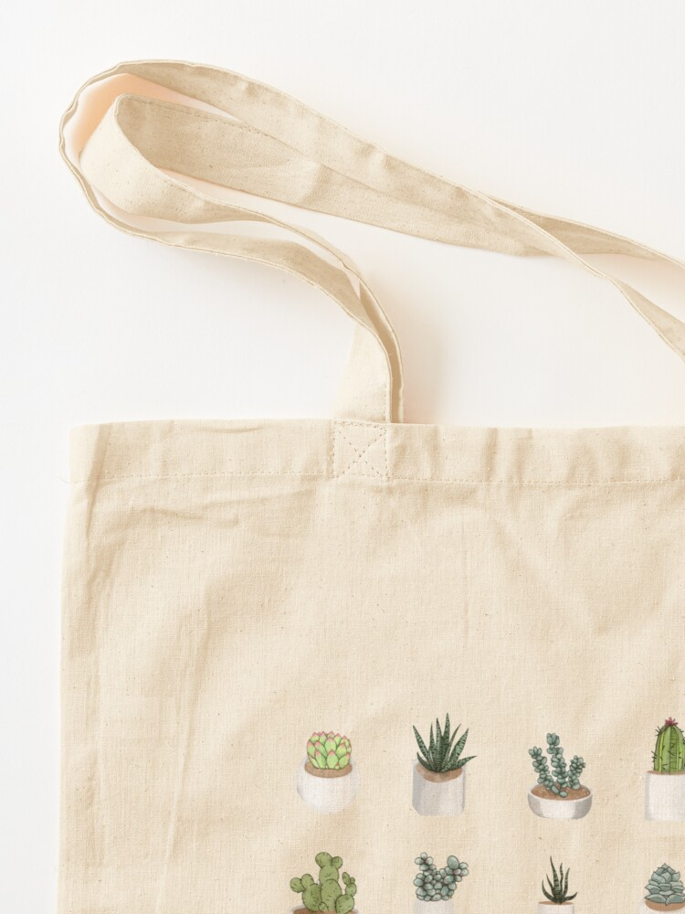 Alternate view of Succulents Tote Bag