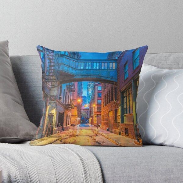 Fetish Alley London Throw Pillow