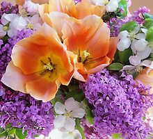 Easter Bouquet #2 by Suzanne Lewis