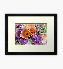 Easter Bouquet #2 Framed Print