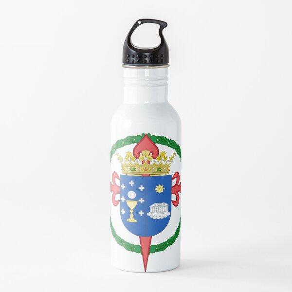 Escudo de armas de santiago de compostela, españa Botella de agua
