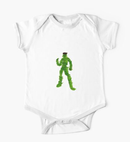 The Green Superhero Kids Clothes