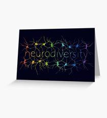 Neuron Diversity - Classic Rainbow Greeting Card