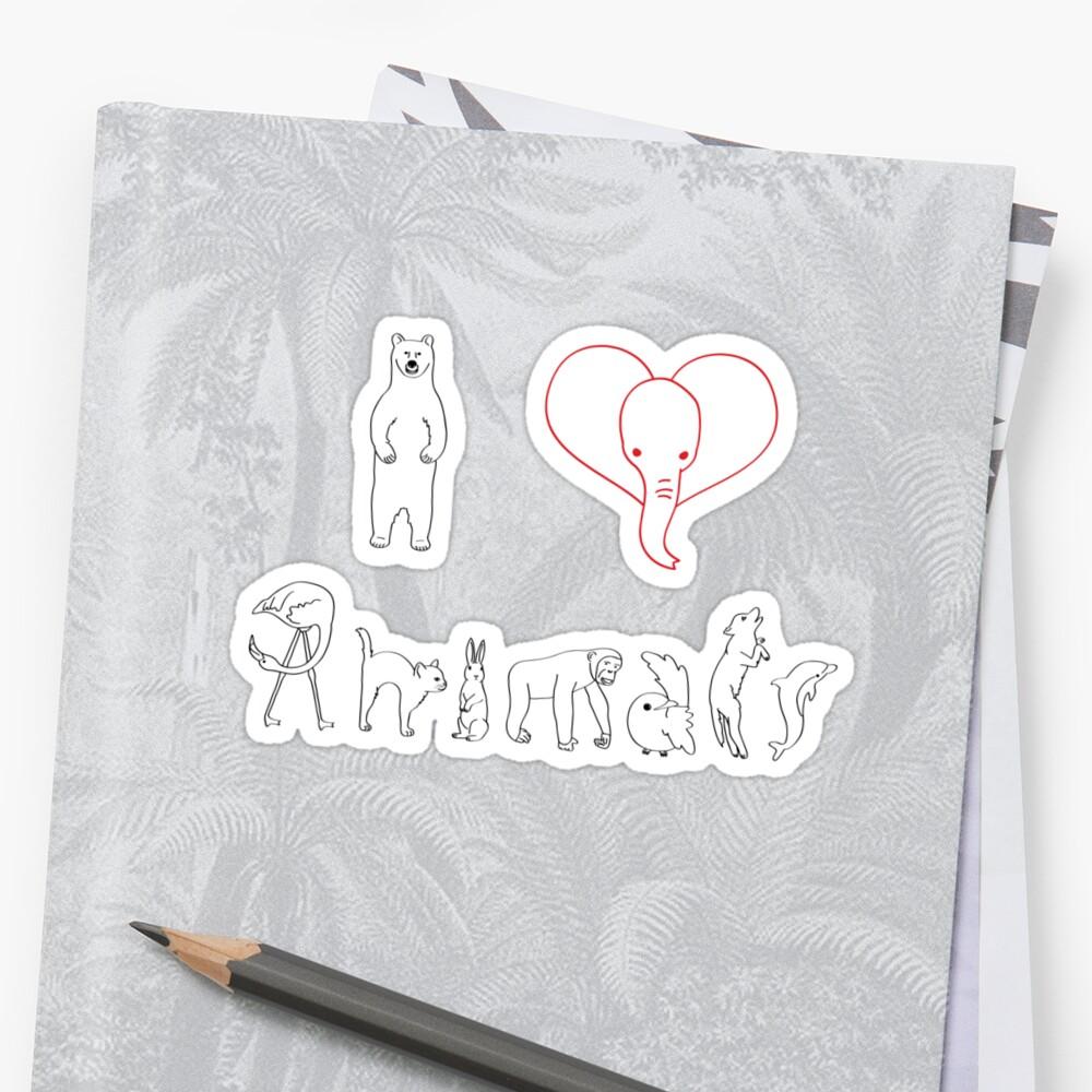 I love Animals  by vava