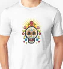 The print of Day of the Dead T-Shirt