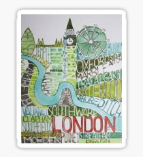 The city of London Sticker