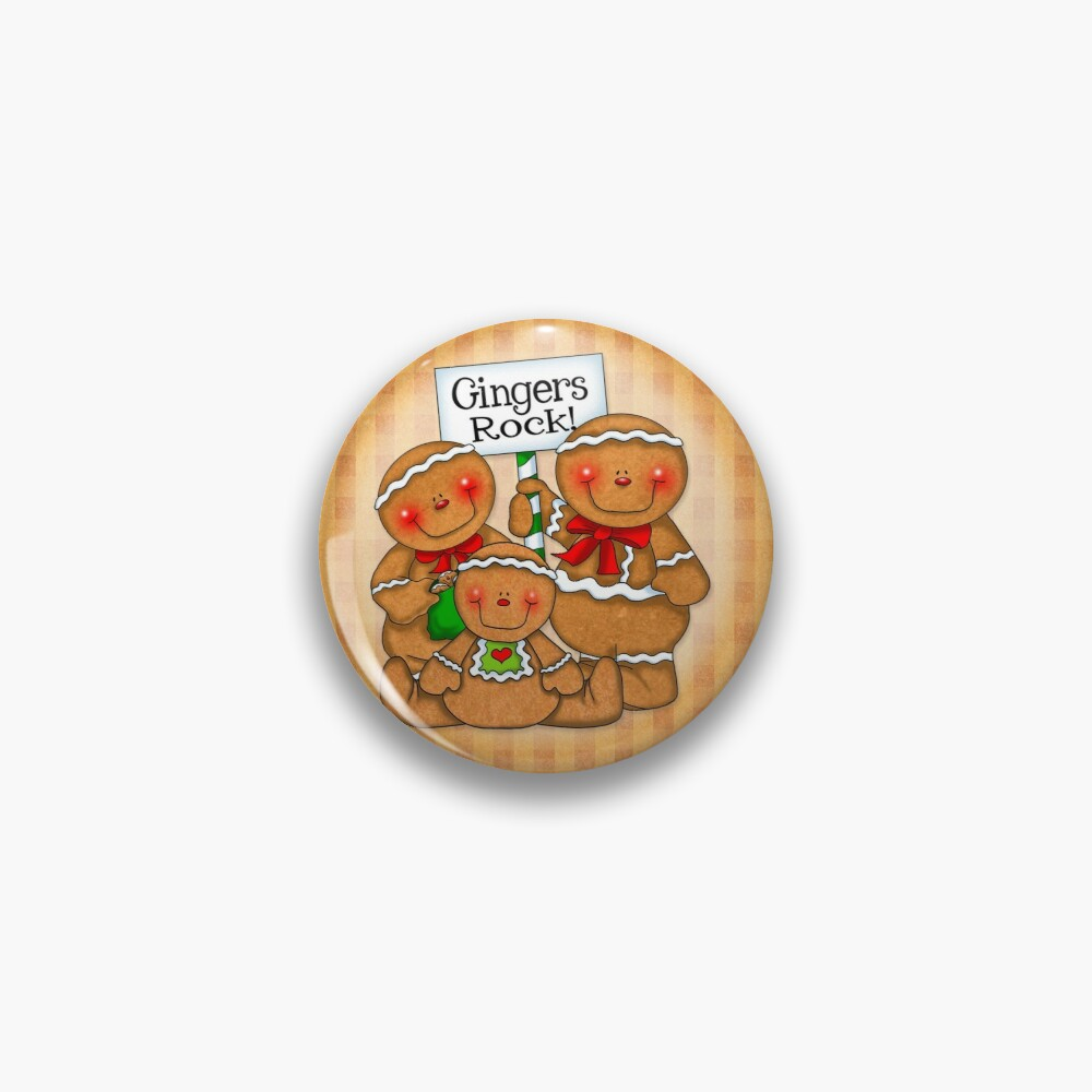 Holiday Gingerbread and Spice Pin