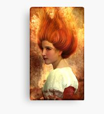 Ardent Passion Canvas Print