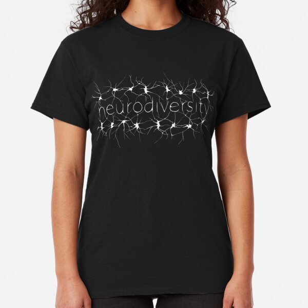 Neuron Diversity - White and Black Classic T-Shirt