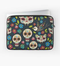 Day of the Dead, a traditional holiday in Mexico.  Laptop Sleeve