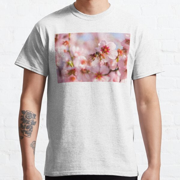 Pink Almond Blossoms - Spring Tree    Classic T-Shirt