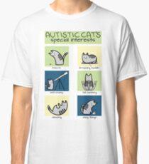 Autistic Cat's Special Interests Classic T-Shirt