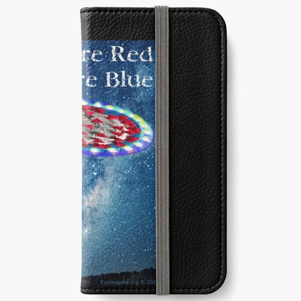 Virus Are Blue iPhone Wallet