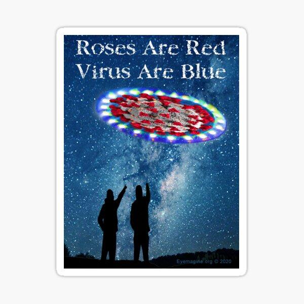 Virus Are Blue Sticker