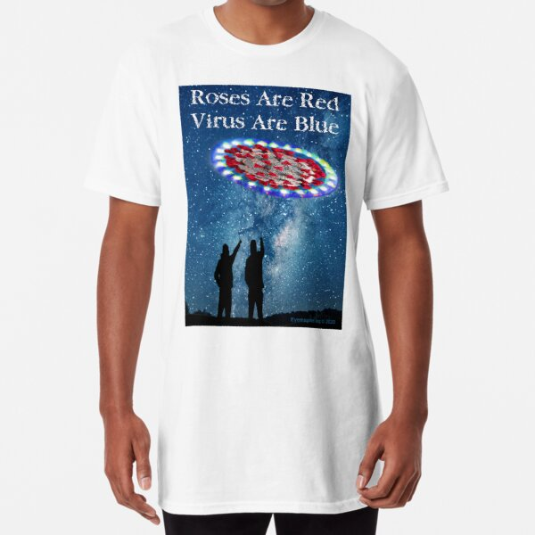Virus Are Blue Long T-Shirt