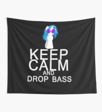 Vinyl Scratch/DJ Pon-3 - Keep Calm and Drop Bass Wall Tapestry