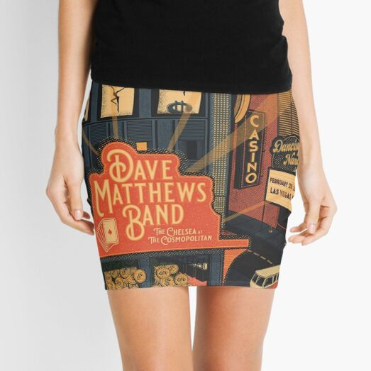 #DMB2020 Casino Dancing Nancies lounge Las vegas Mini Skirt