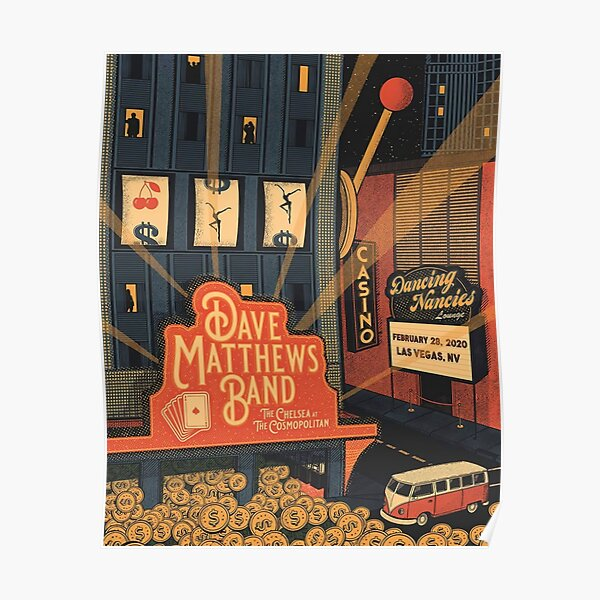 #DMB2020 Casino Dancing Nancies lounge Las vegas Poster