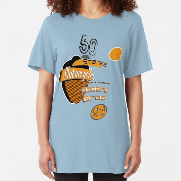 3d 50 states of USA by rogers bros Slim Fit T-Shirt