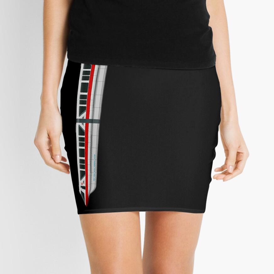 Monorail Leggings & Skirt Design Mini Skirt