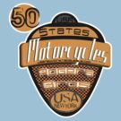 50 states of usa motorcycles by rogers bros by usanewyork