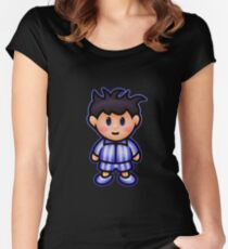 Ness in Pajamas Women's Fitted Scoop T-Shirt