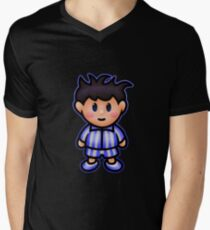 Ness in Pajamas Men's V-Neck T-Shirt