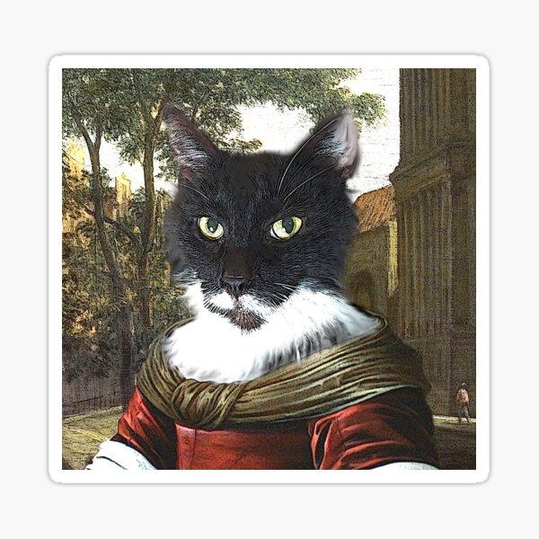 Madame Filou, seafaring cats Sticker