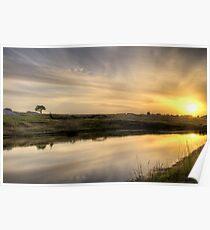 Sunset - Dog Rocks - Batesford - Victoria Poster
