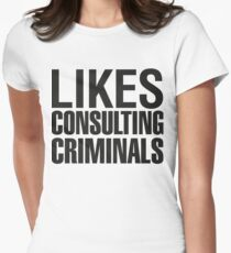 SHERLOCK - LIKES CONSULTING CRIMINALS T-Shirt