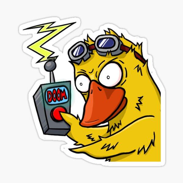 Doom Duck Sticker