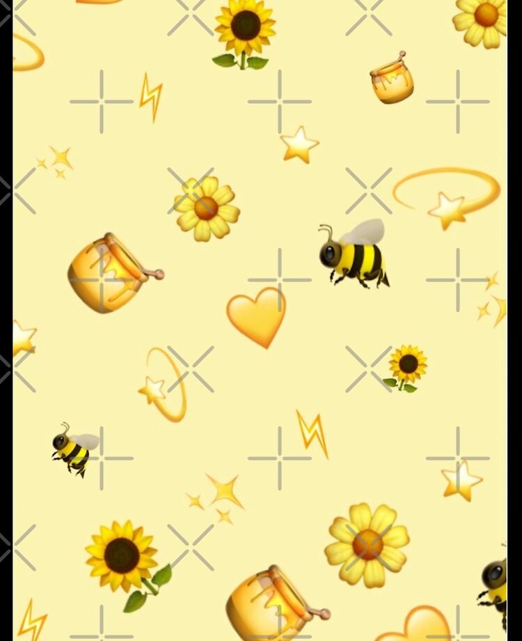 Aesthetic Yellow Background Ipad Case Skin By Sophiakno Redbubble