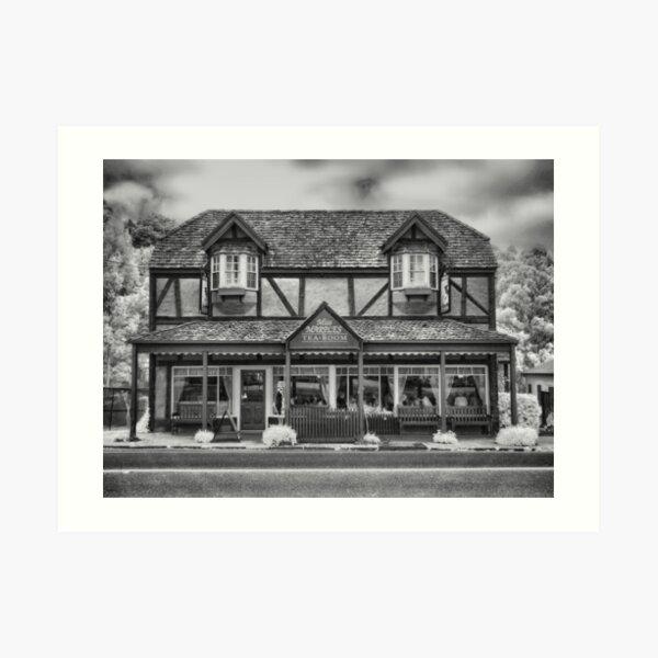 Miss Marple's Tea Room - Front Art Print