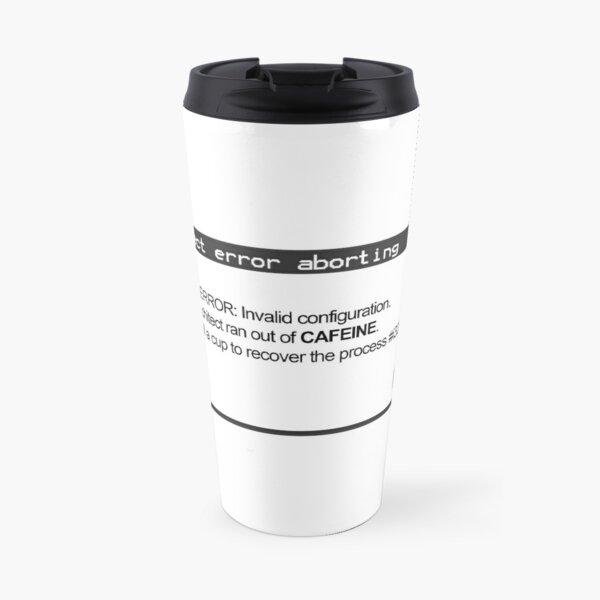 FATAL ERROR Travel Mug