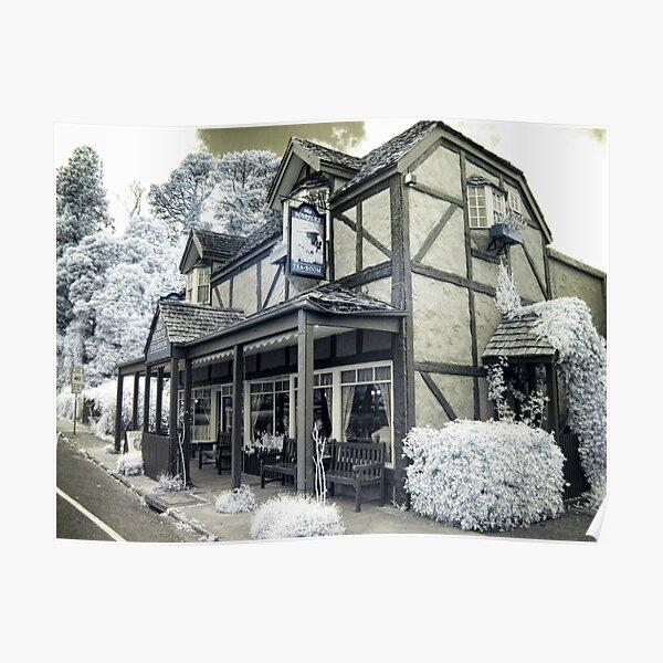 Miss Marple's Tea Room - Angled Poster