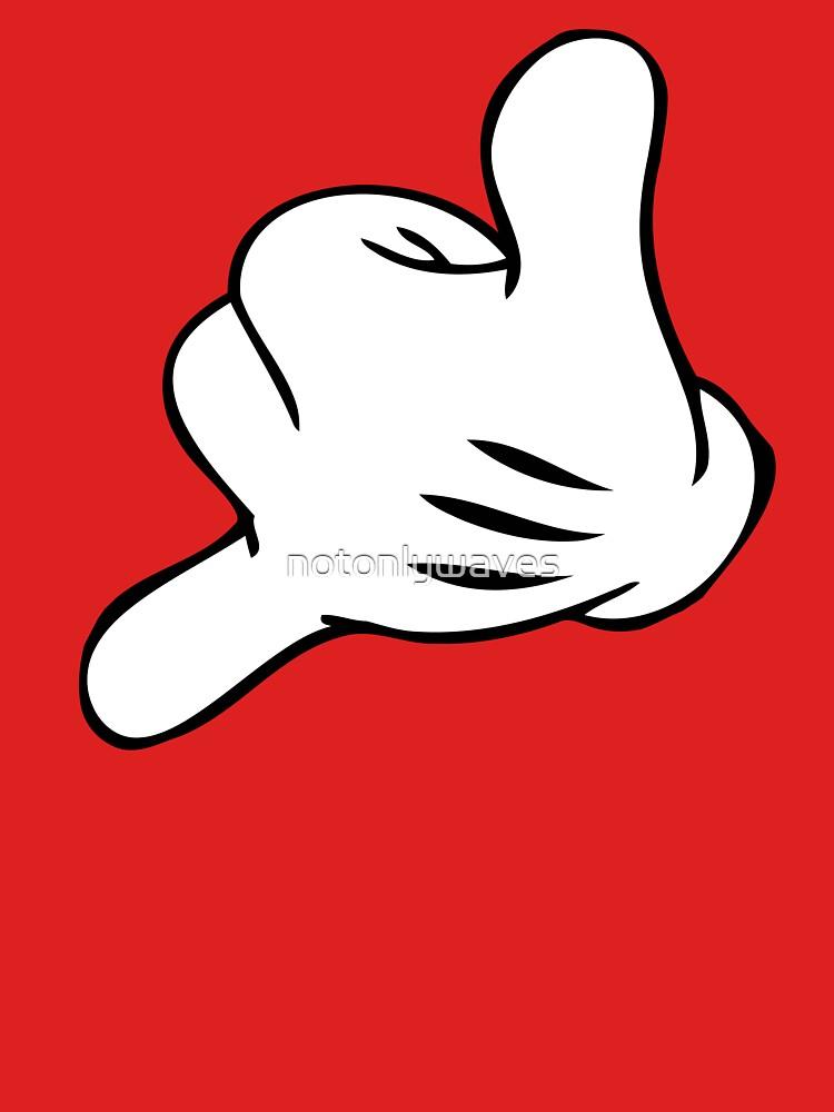 TShirtGifter presents: Funny Surf fingers - Shaka hand | Unisex T-Shirt