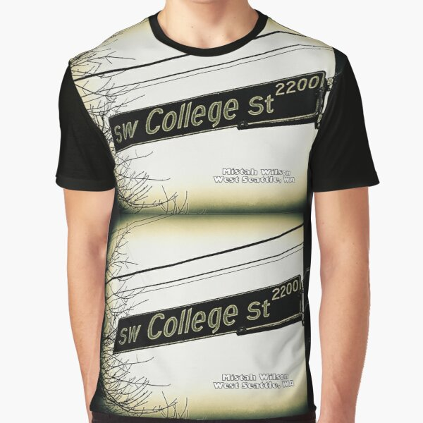 SW College Street, West Seattle, SIGNATURE Graphic T-Shirt