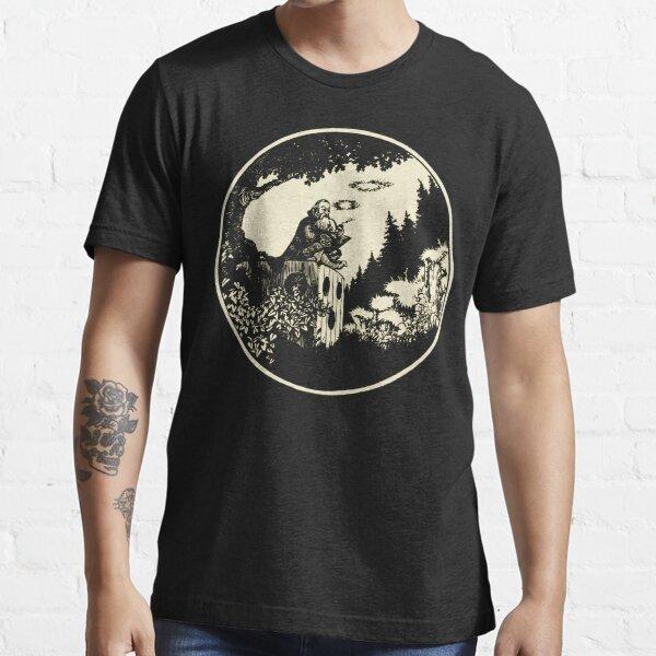AD&D Smoking Wizard Essential T-Shirt